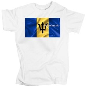 Flag of Barbados unisex t-shirt
